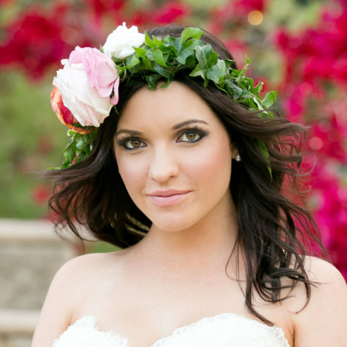 Maleny wedding makeup and hair styling